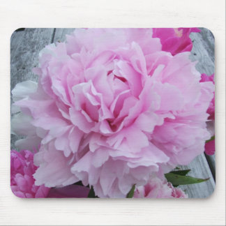 Pink Peonies / Peony Flower Mouse Mat