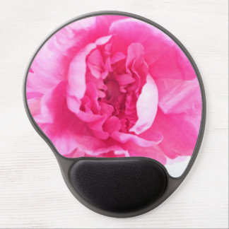 Pink Peony Blooming Gel Mouse Pad