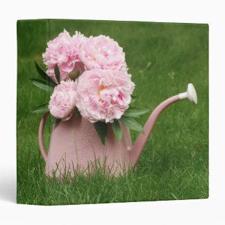 "Pink Peony Bouquet 1.5"" Photo Album Binder"