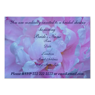 Pink Peony Bridal Shower Invitations