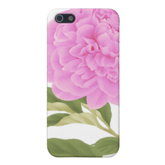 Pink Peony Cover For iPhone SE/5/5s