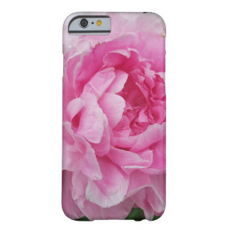 Pink Peony Flower Barely There iPhone 6 Case