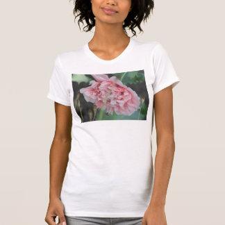Pink Peony Flower MicroFiber T-Shirt