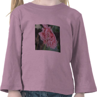 Pink Peony Flower Toddler T-Shirt
