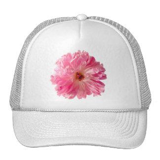 Pink Peony Flower Trucker Hat