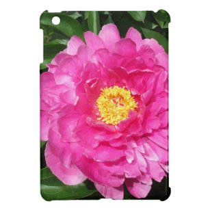 Pink Peony Flower With Yellow Center Cover For The Ipad Mini