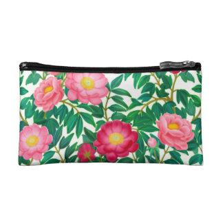 Pink Peony Garden Flowers Bagettes Bag