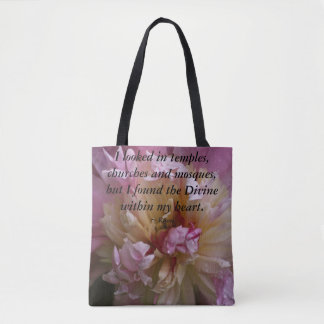 Pink Peony...I found the Divine Tote Bag