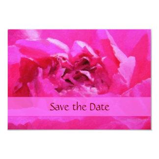 Pink Peony 3.5x5 Paper Invitation Card
