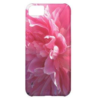 Pink Peony iPhone 5C Case