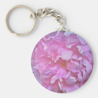 Pink Peony Key-chain Keychain
