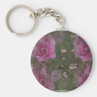 Pink Peony Medley Keychain