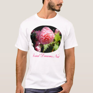 Pink Peony Pearls T-Shirt