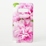 """Pink Peony Samsung Galaxy S10E Case<br><div class=""""desc"""">Pink Peony on a white background</div>"""