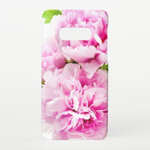 Pink Peony Samsung Galaxy S10E Case