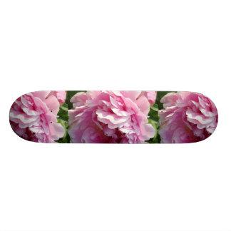Pink Peony Skateboard Deck