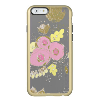 Pink Peony Sketched Art Case - Iphone 6s case