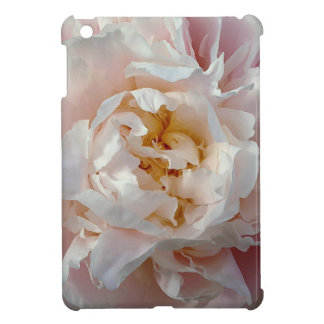 Pink Peony Watercolor Flower Design iPad Mini Cases