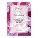 "Pink Peony Wedding Rehearsal Dinner Invitation 5"" X 7"" Invitation Card"