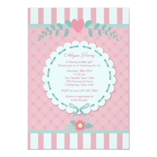 Pink Perfection Baby Shower Invitation