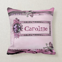 Pink Personal Customised Pillow