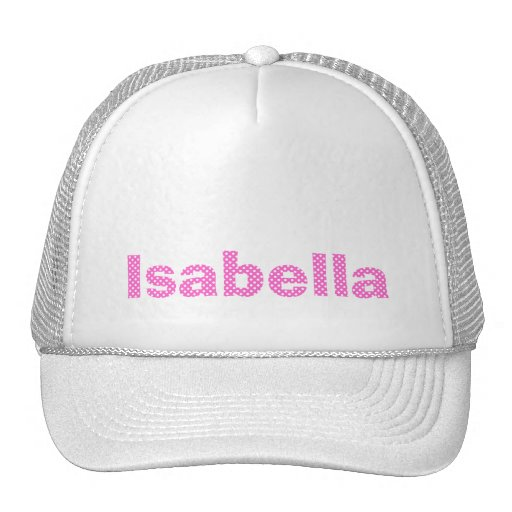 Pink Personalized Hat