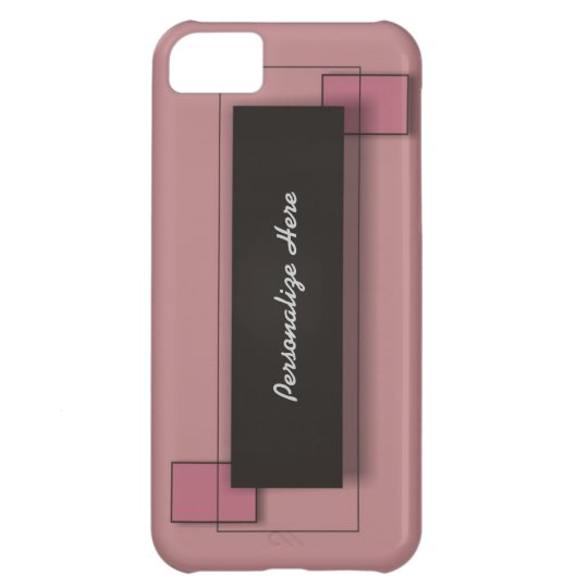 Pink Personalized iPhone 5 Case