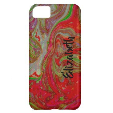 PINK PERSONALIZED iPhone 5C CASE BARELY THERE