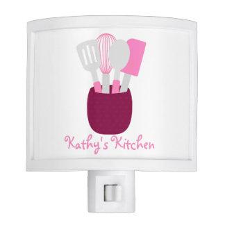 Pink Personalized Kitchen Night Lites