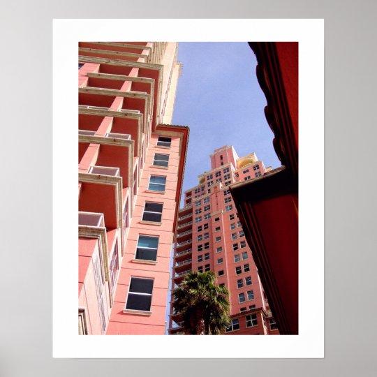 Pink Perspective: Art Deco Poster | Zazzle.com