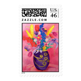 Pink Persuasion Postage Stamp