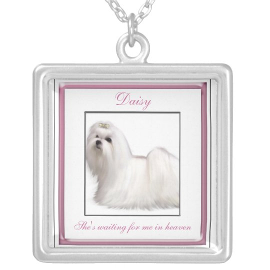 Pink Pet Memorial Necklace