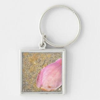 Pink Petal Key Chains