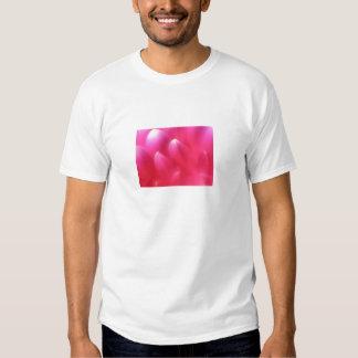 Pink Petals Adult White Tee Shirt