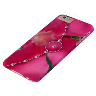 Pink Petals and Pearls Barely There iPhone 6 Plus Case