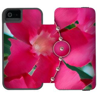 Pink Petals and Pearls Incipio Watson™ iPhone 5 Wallet Case