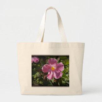 Pink Petals Canvas Bags