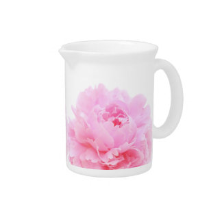 pink petals beverage pitchers