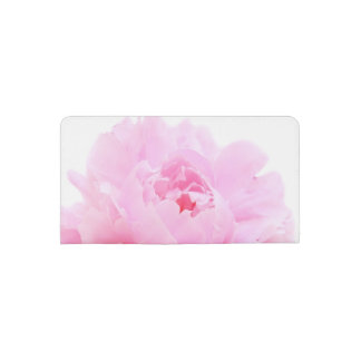 pink petals checkbook cover