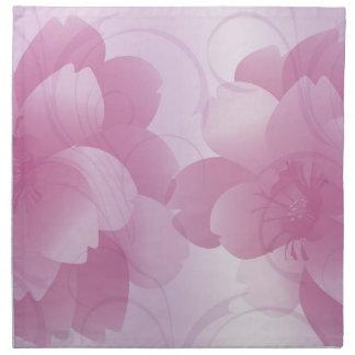 Pink Petals Napkins
