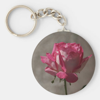 Pink petals of Rose Key Chain