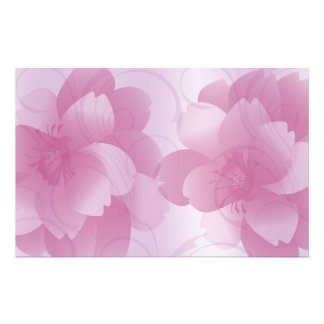 Pink Petals Stationery