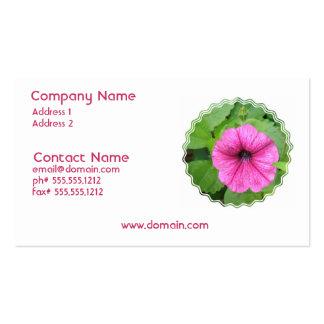 Pink Petunia Business Card