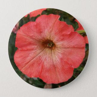 Pink Petunia Button