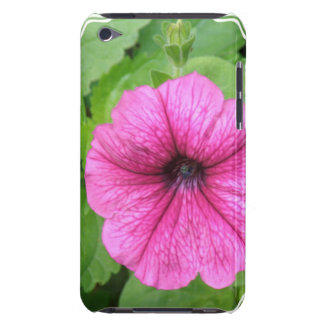 Pink Petunia Flower iTouch Case Barely There iPod Covers