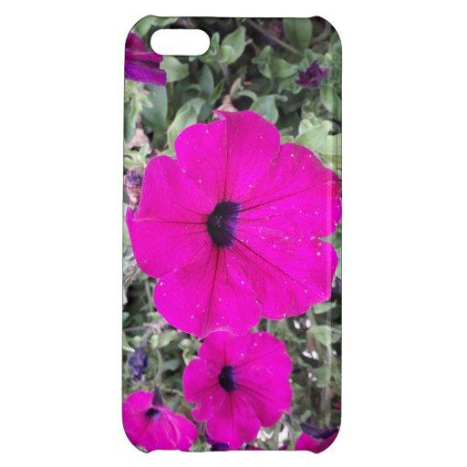 Pink Petunia Case For iPhone 5C