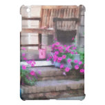 Pink Petunias and Watering Cans iPad Mini Covers
