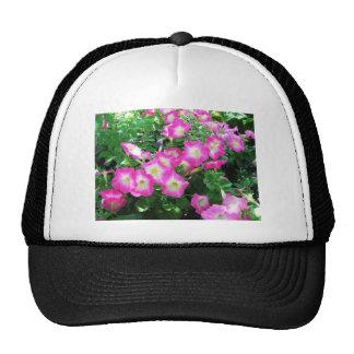 Pink Petunias Mesh Hat