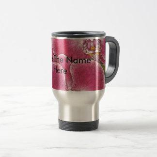Pink Phalaenopsis Orchids Flowers On Mug