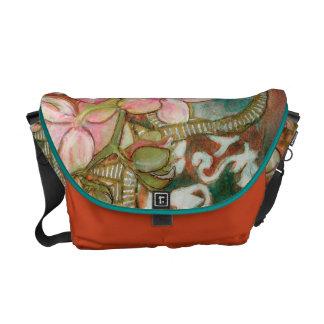 """Pink Phalie"" Messenger Bag"